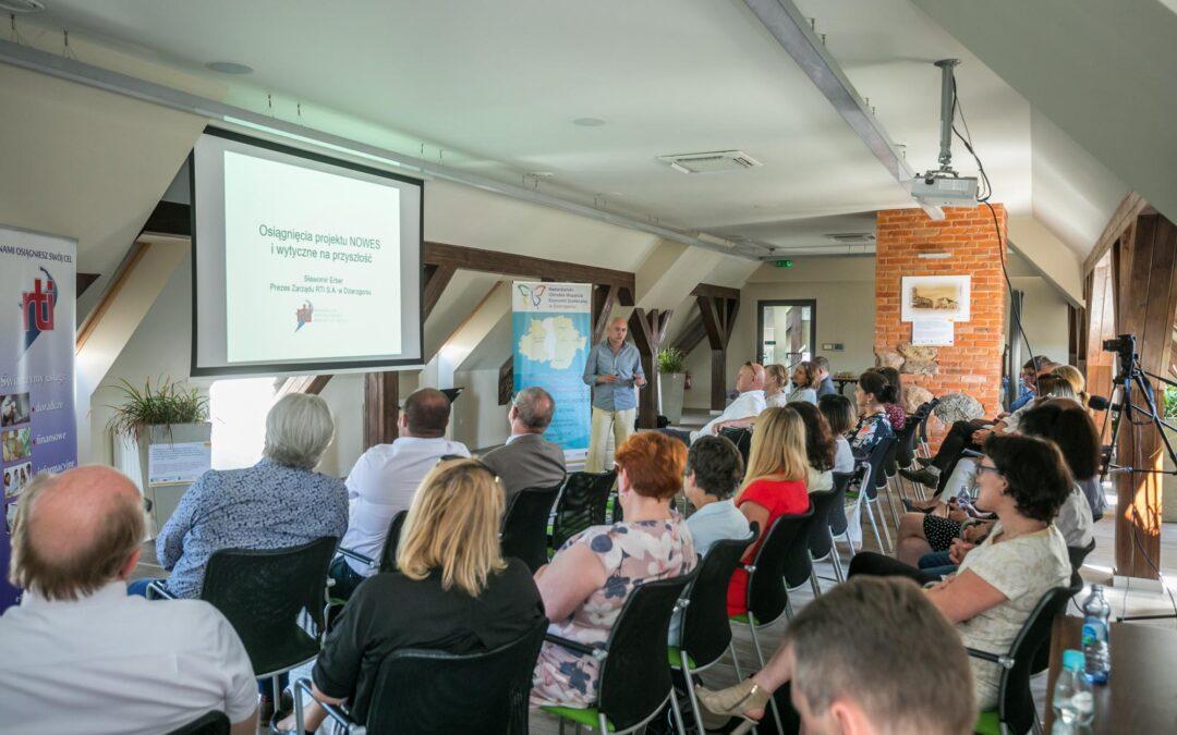 Konferencja nt. ekonomii społecznej w RTI w Dzierzgoniu